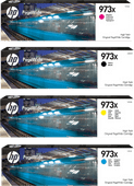 HP 973X Cartouches Pack Combiné