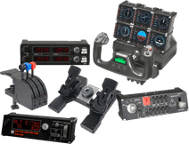 Pack de simulateur de vol - Saitek Pro Flight Yoke System
