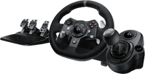Logitech G920 Driving Force Xbox en pc + Logitech Driving Force Shifter
