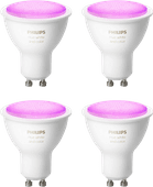 Philips Hue White and Color GU10 Bluetooth Lot de 4