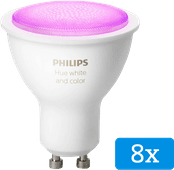 Philips Hue White and Color GU10 Bluetooth 8-Pack