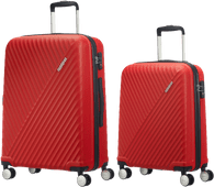 American Tourister Visby Spinner 55cm Red + 76cm Red kofferset