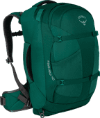 Osprey Fairview 40 L Rainforest Green - Slim Fit