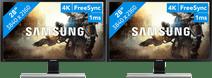 Samsung LU28E570DS/EN Configuration double écran