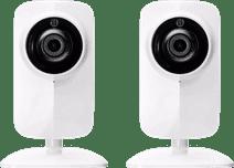 KlikAanKlikUit Caméra IP Wi-Fi avec Vision Nocturne Lot de 2