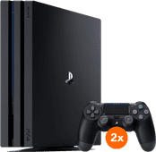 Sony PlayStation 4 Pro 1TB + 2 Dualshock Controllers