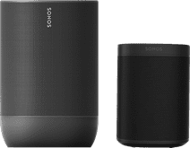 Sonos Move Zwart + Sonos One Zwart