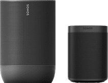 Sonos Move Black + Sonos One SL Black