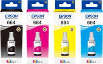 Epson T664 Cartridge 4-pack