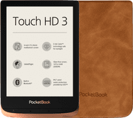 Pocketbook Touch HD 3 Cuivre + Pocketbook Shell Touch HD 3 Brun