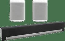 Sonos Playbar 5.0 + One SL (2x) Blanc