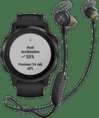 Garmin Fenix 6S PRO - Black - 42mm + Jaybird Tarah Pro Wireless Sport Earbuds