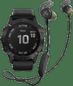Garmin Fenix 6 PRO - Black - 47mm + Jaybird Tarah Pro Wireless Sport Earbuds
