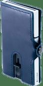 Silvergear Luxe Pasjeshouder Leer Blauw