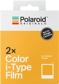 Polaroid Originals Color Instant Fotopapier i-Type Film Double Pack