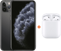 Apple iPhone 11 Pro 256 Go Gris sidéral + Apple AirPods 2 avec boitier de charge