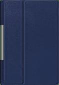 Just in Case Smart Tri-Fold Lenovo Yoga Smart Tab Book Case Bleu