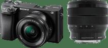 Sony Alpha A6400 + E PZ 16-50mm f/3.5-5.6 OSS + 10-18mm f/4 OSS