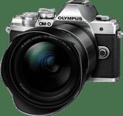 Olympus OM-D E-M10 Mark III Silver + 12-200mm f/3.5-6.3 Black