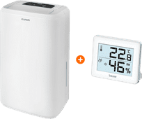 Eurom Drybest 10 + Hygrometer