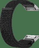 Just in Case Garmin Fenix 6X/6X Pro Nylon Strap Black