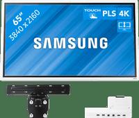 Samsung Flip 2 65 inch met muurbeugel en connectivity tray