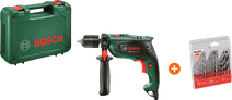 Bosch EasyImpact 550 + Kreator Drill Set Metal/Stone/Wood 16-piece