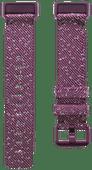 Fitbit Charge 4 Nylon Bandje Palissander Maat L