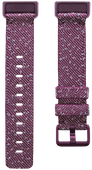 Fitbit Charge 4 Nylon Bandje Paars S