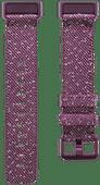 Fitbit Charge 4 Nylon Bandje Palissander Maat S
