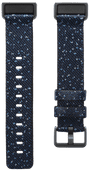 Fitbit Charge 4 Nylon Sportbandje Nachtblauw Maat S