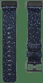 Fitbit Charge 4 Nylon Bandje Nachtblauw Maat L
