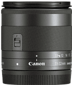 Canon EF-M 11-22mm f/4-5.6 IS STM Zwart