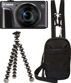 Canon PowerShot SX720 HS Kit de Voyage Noir