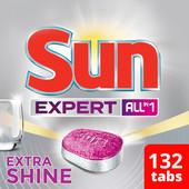 Sun Expert Extra Shine All-in-1 - 132 stuks