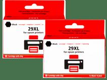 Pixeljet 29 XL Duo Pack Zwart voor Epson printers (C13T29914010)