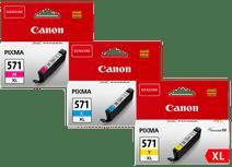Canon CLI-571XL Cartouches Pack Combiné