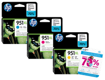 HP 951XL Cartouches Pack Combiné