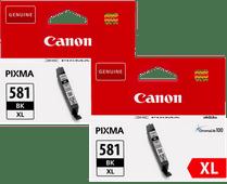 Canon CLI-581XL Cartouches Noir Lot de 2