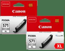 Canon CLI-571XL Cartouche Gris Lot de 2