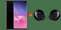Samsung Galaxy S10 128GB Zwart + Samsung Galaxy Buds+ Zwart