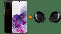 Samsung Galaxy S20 Plus 128GB Black 5G + Samsung Galaxy Buds+ Black