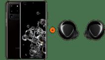Samsung Galaxy S20 Ultra 128GB Zwart 5G + Samsung Galaxy Buds+ Zwart