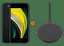 iPhone SE 128 Go Noir + Belkin Boost Up Chargeur sans fil