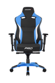 AKRacing Gaming Chair Master Pro - Zwart / Blauw