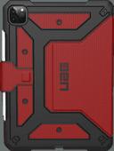 UAG Metropolis Apple iPad Pro 12,9 pouces (2020) Book Case Rouge