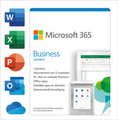 Microsoft 365 Business Standard NL Abonnement 1 an