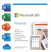 Microsoft 365 Personal Subscription 1 Year EN