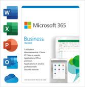 Microsoft 365 Business Standard Subscription 1 Year FR