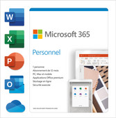 Microsoft 365 Personal Subscription 1 Year FR